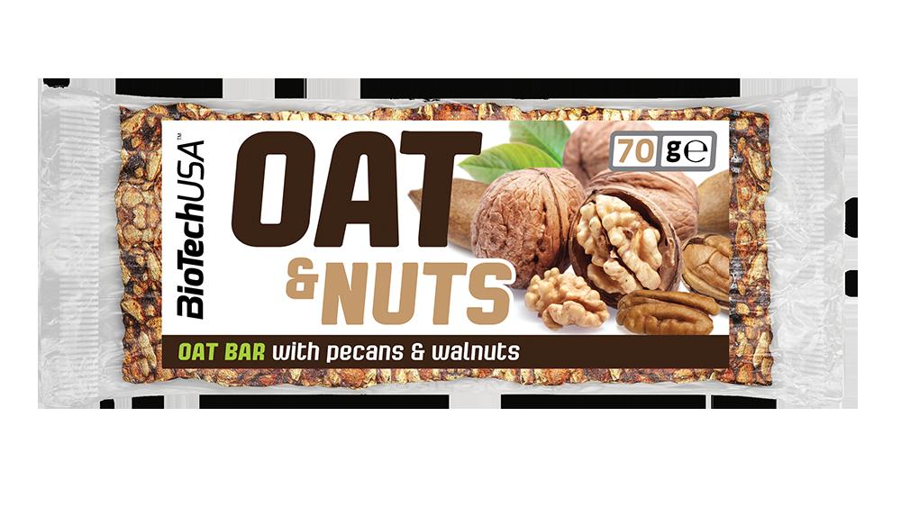 BioTech USA Oat & Nuts 70 gr.