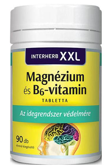 Interherb XXL Magnesium + Vitamin B6 90 kap.