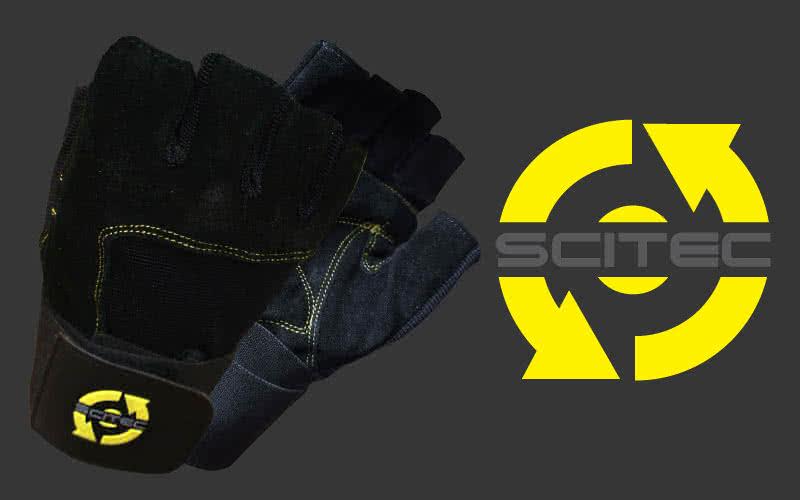Scitec Nutrition Yellow Style rukavice par