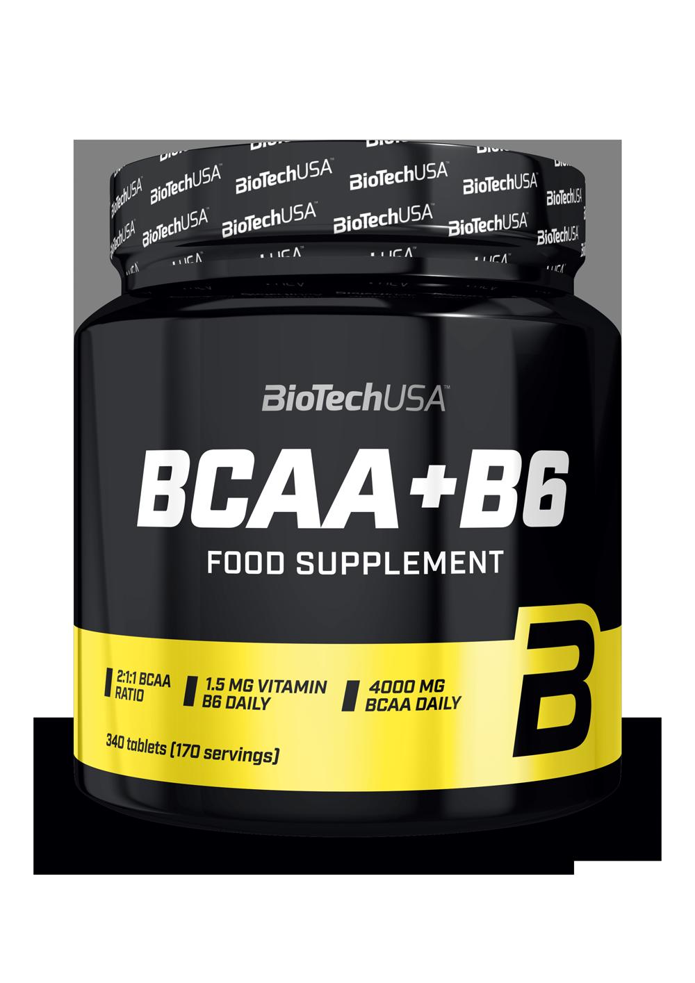 BioTech USA BCAA+B6 340 tab.