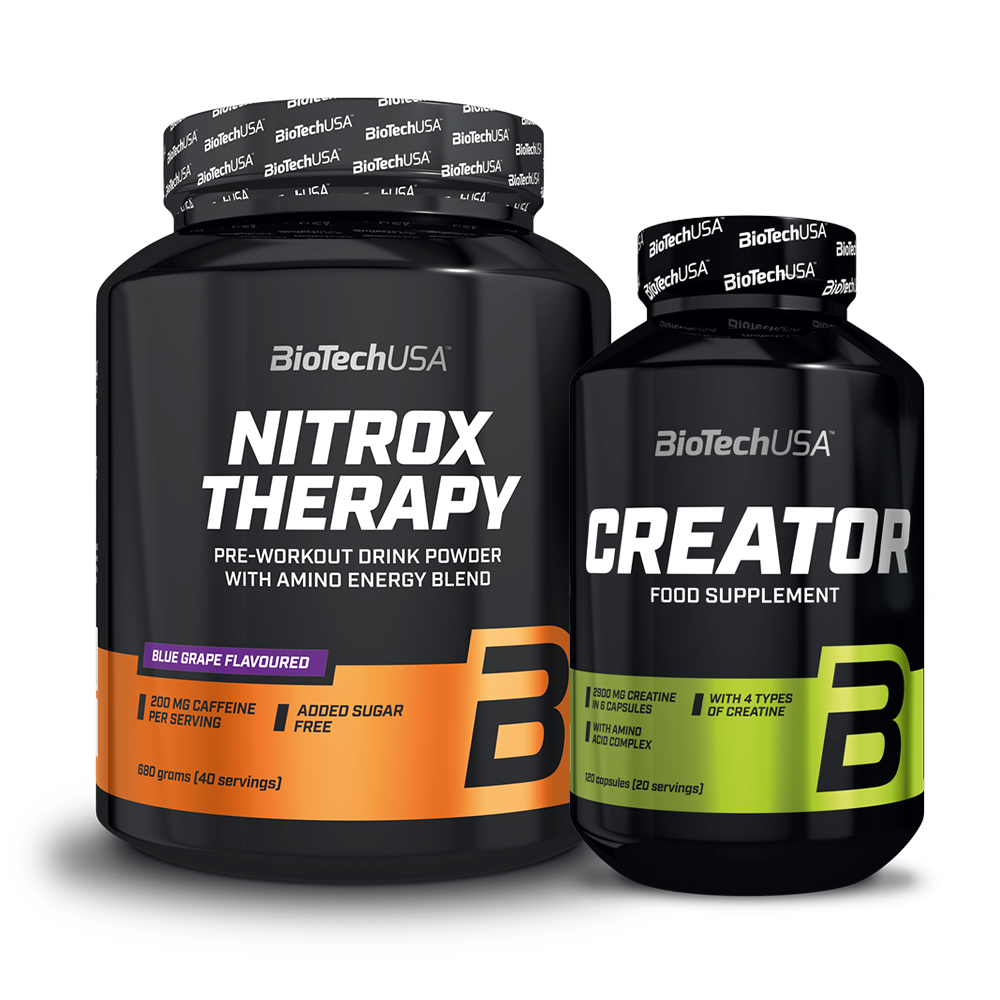BioTech USA Nitrox Therapy + CreaTOR set
