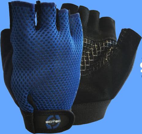 Scitec Nutrition Basic Blue rukavice par