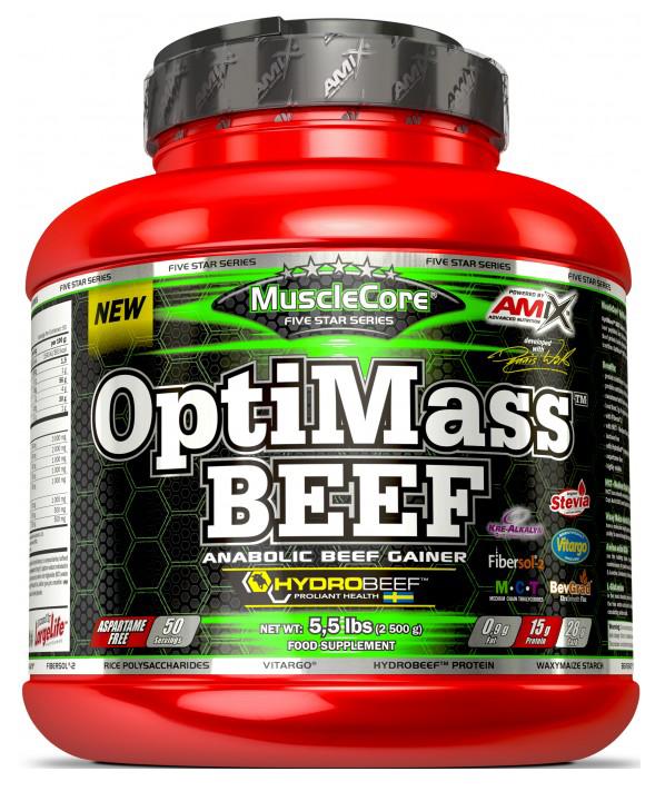 Amix OptiMass Beef 2,5 kg