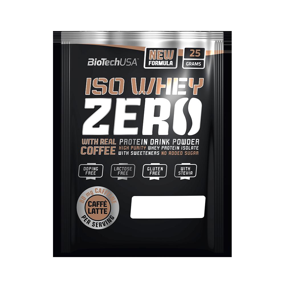 BioTech USA Iso Whey Zero Caffé Latte 25 gr.