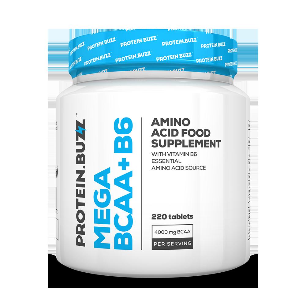 Protein Buzz Mega BCAA+B6 220 tab.
