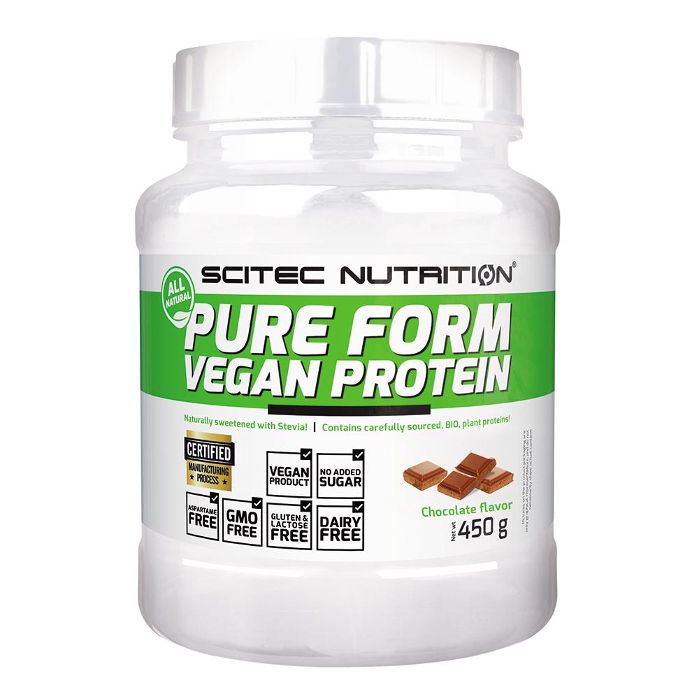 Scitec Nutrition Pure Form Vegan Protein 0,45 kg