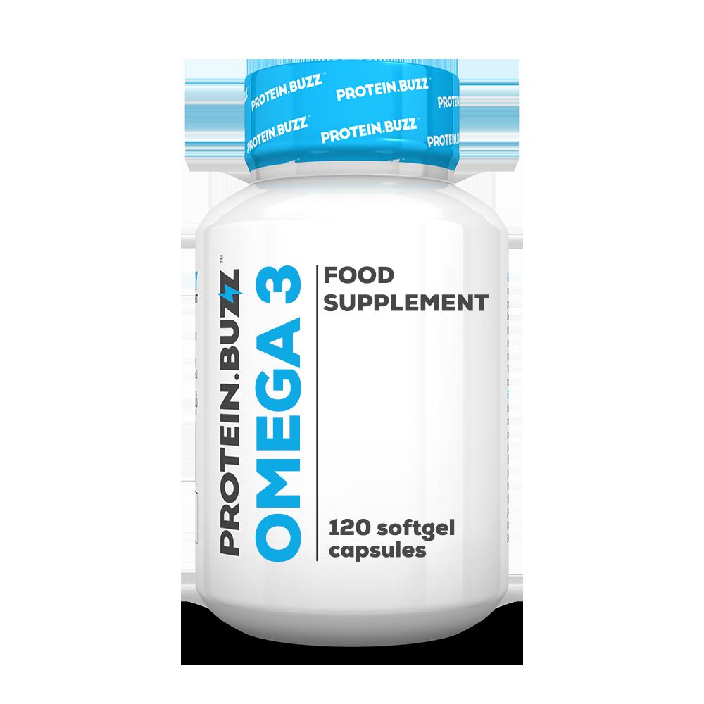 Protein Buzz Omega 3 120 kap.