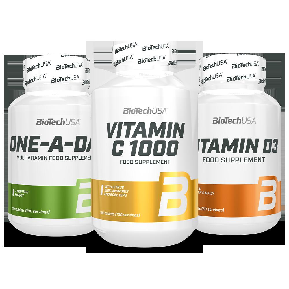 BioTech USA Biotech Zimski Paket Vitamina set