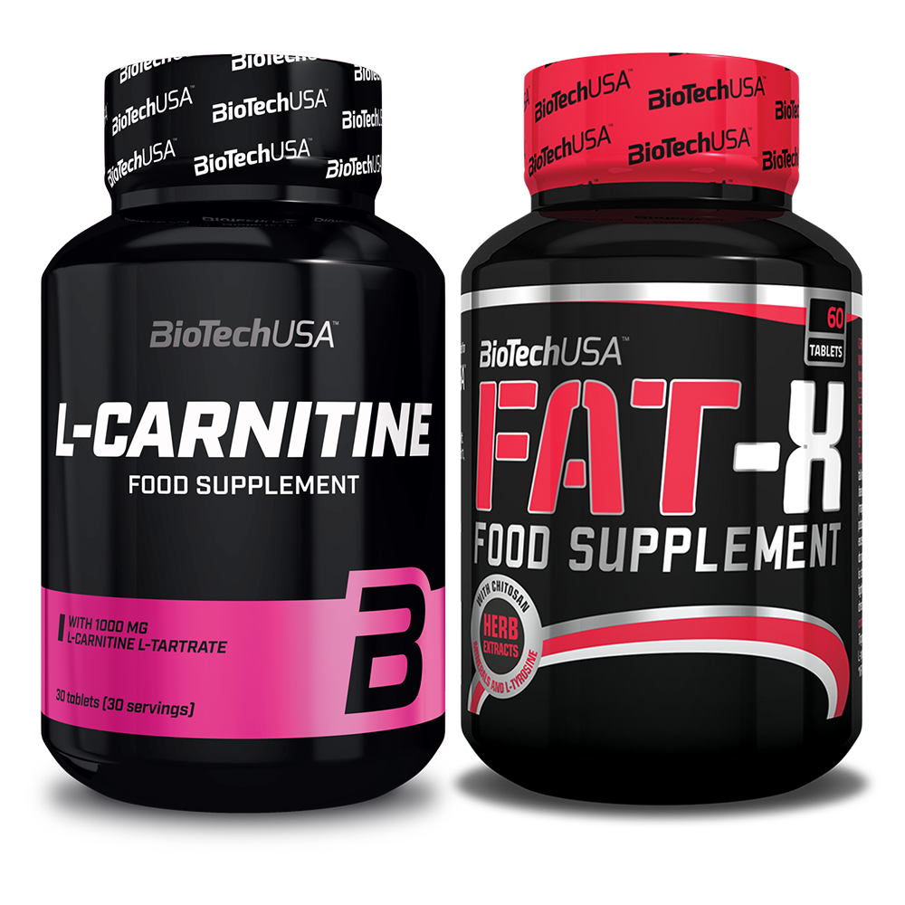 BioTech USA L-Carnitine + Fat-X set