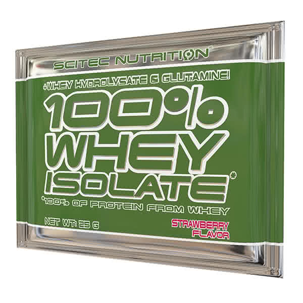 Scitec Nutrition 100% Whey Isolate 25 gr.