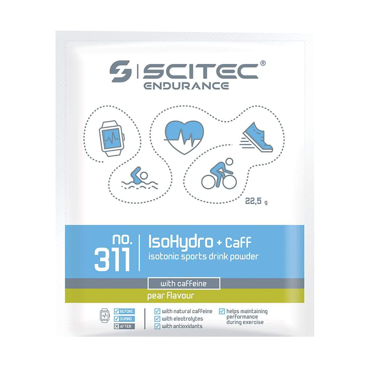 Scitec Nutrition IsoHydro+Caff 22,5 gr.