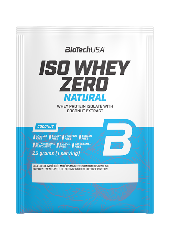 BioTech USA Iso Whey Zero Natural 25 gr.