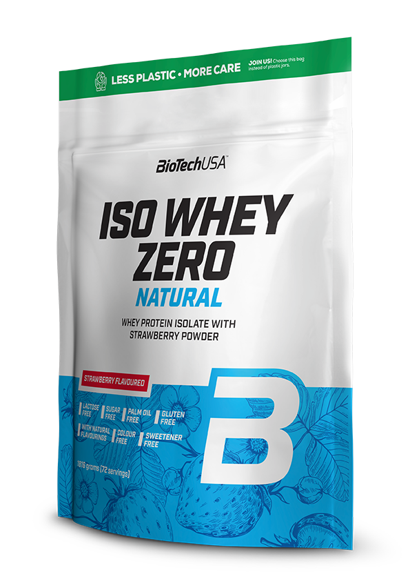 BioTech USA Iso Whey Zero Natural 1,816 kg