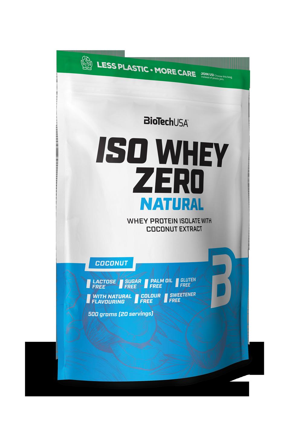 BioTech USA Iso Whey Zero Natural 0,5 kg