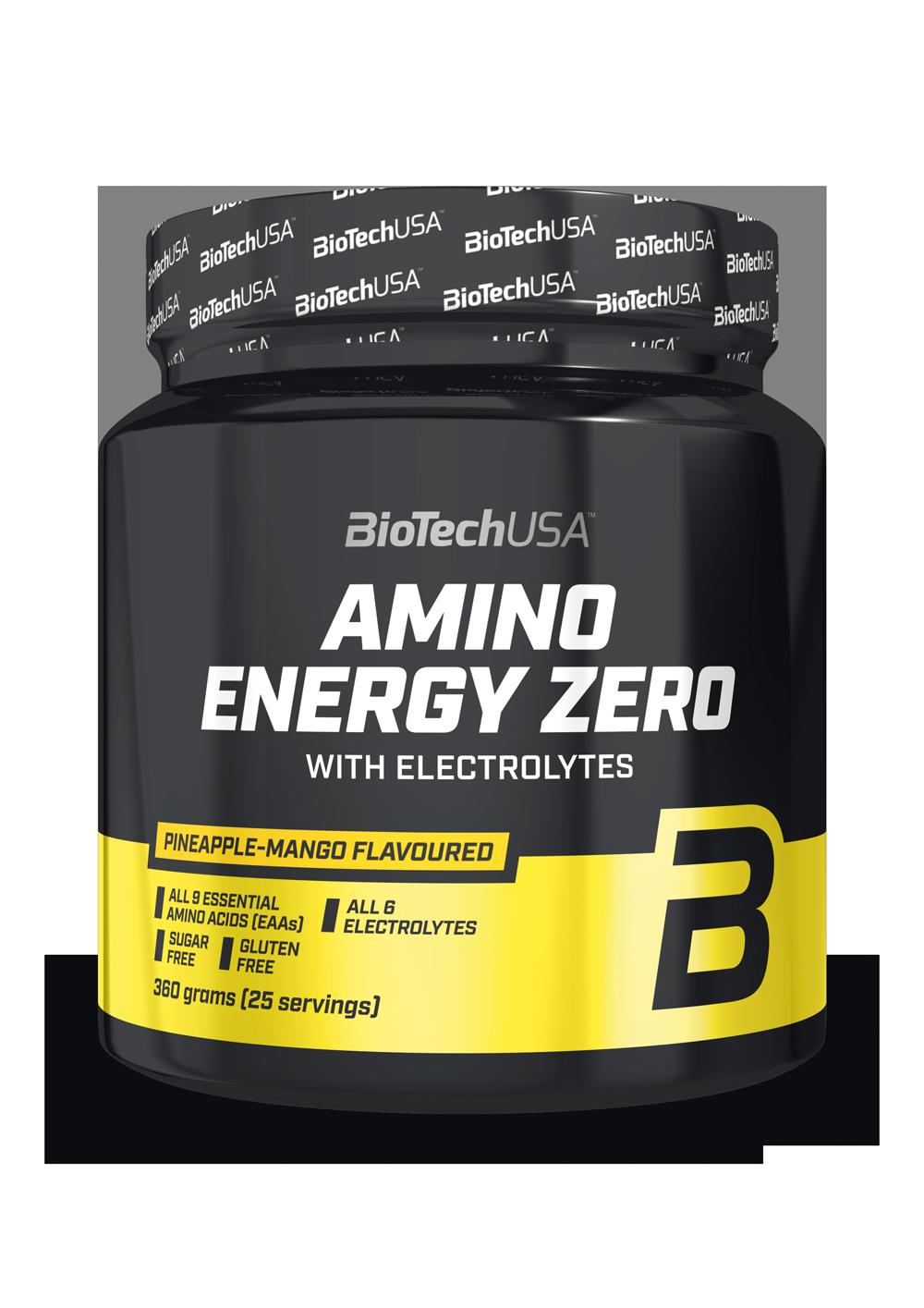 BioTech USA Amino Energy Zero with electrolytes 360 gr.