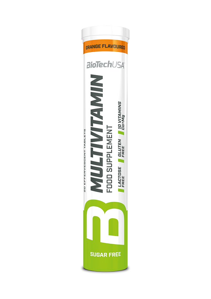 BioTech USA Multivitamin effervescent  20 tab.