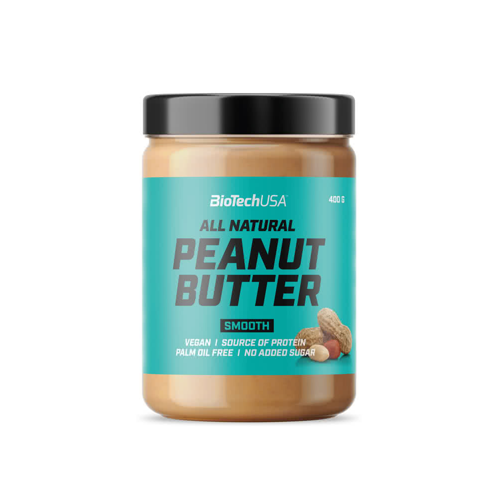 BioTech USA All Natural Peanut Butter 400 gr.