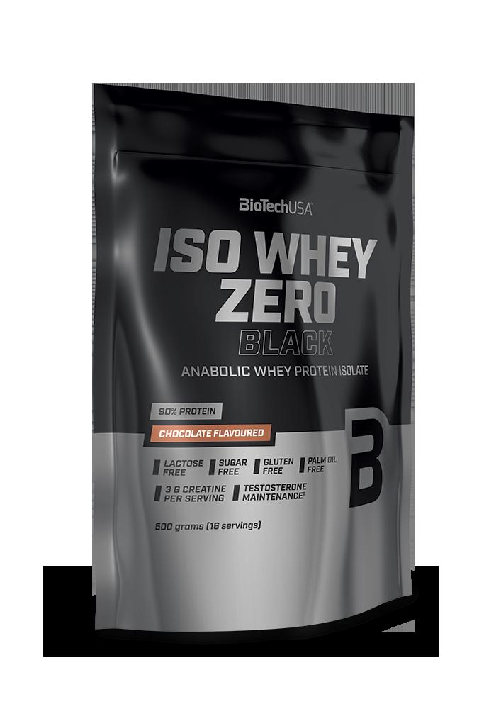 BioTech USA Iso Whey Zero Black 0,5 kg