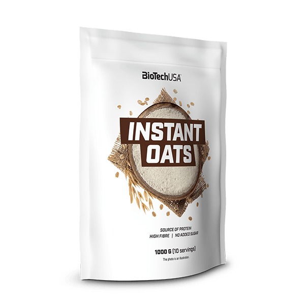 BioTech USA Instant Oats 1 kg
