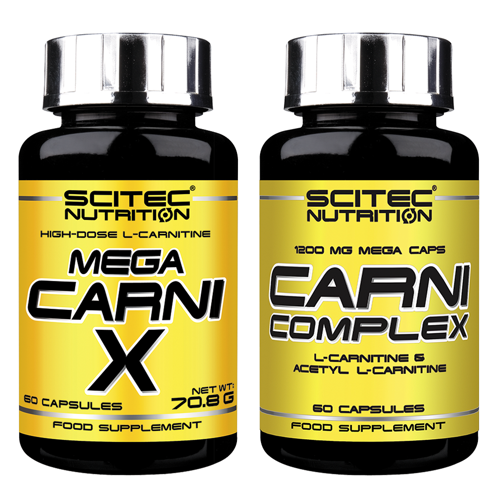 Scitec Nutrition Mega Carni-X + Carni Complex 120 kap.