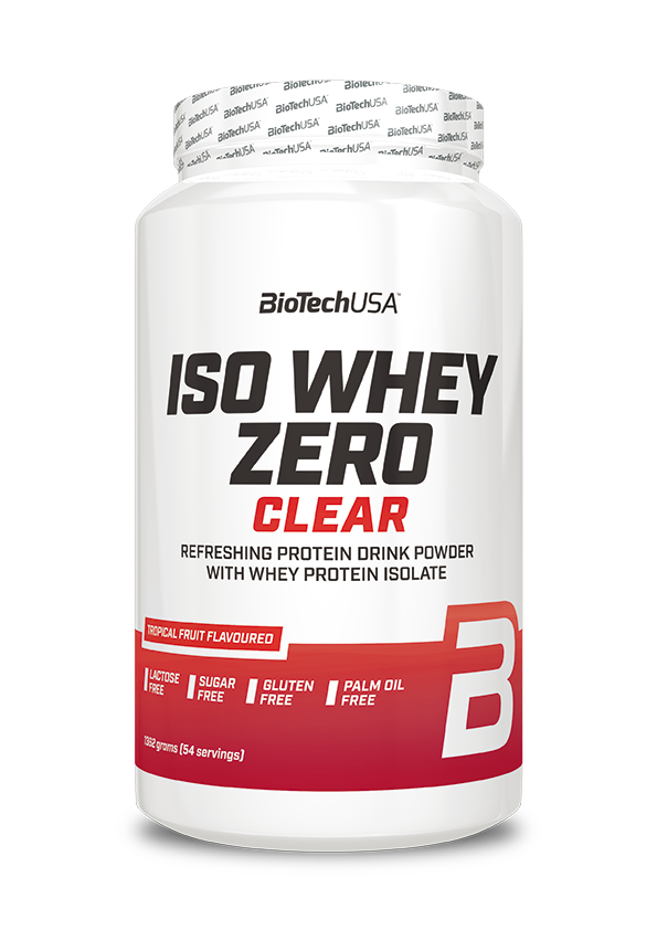 BioTech USA Iso Whey Zero Clear 1,362 kg