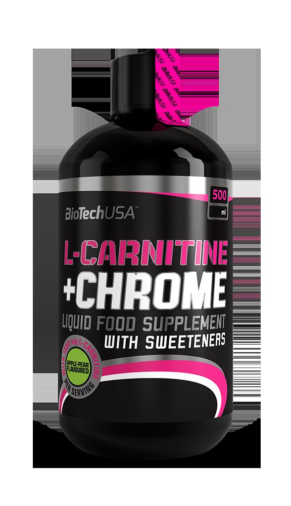 BioTech USA Liquid L-Carnitine + Chrome 0,5 lit.