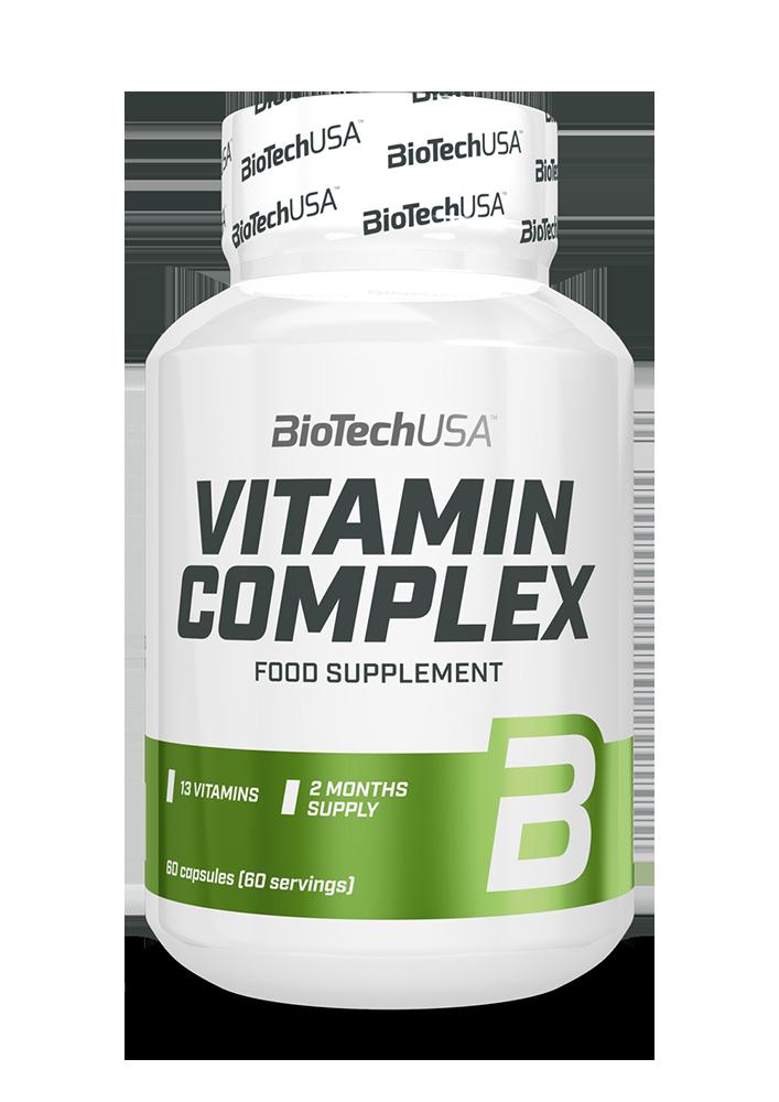BioTech USA Vitamin Complex 60 kap.