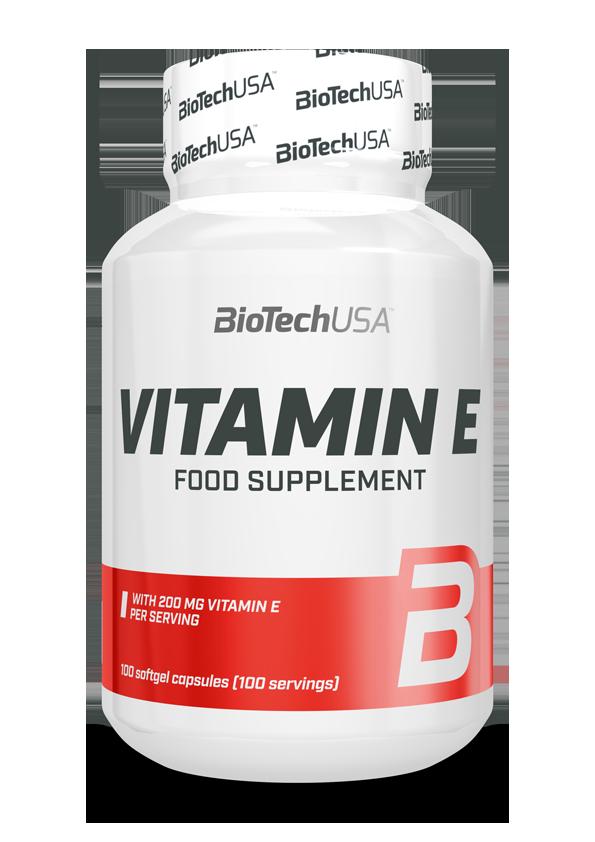BioTech USA Vitamin E 100 g.k.