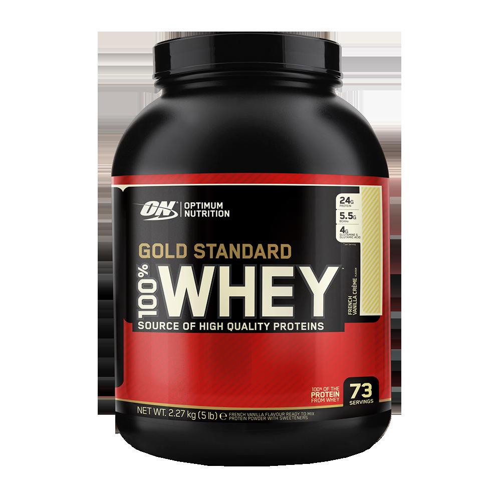 Optimum Nutrition 100% Whey Protein Gold Standard 2,273 kg