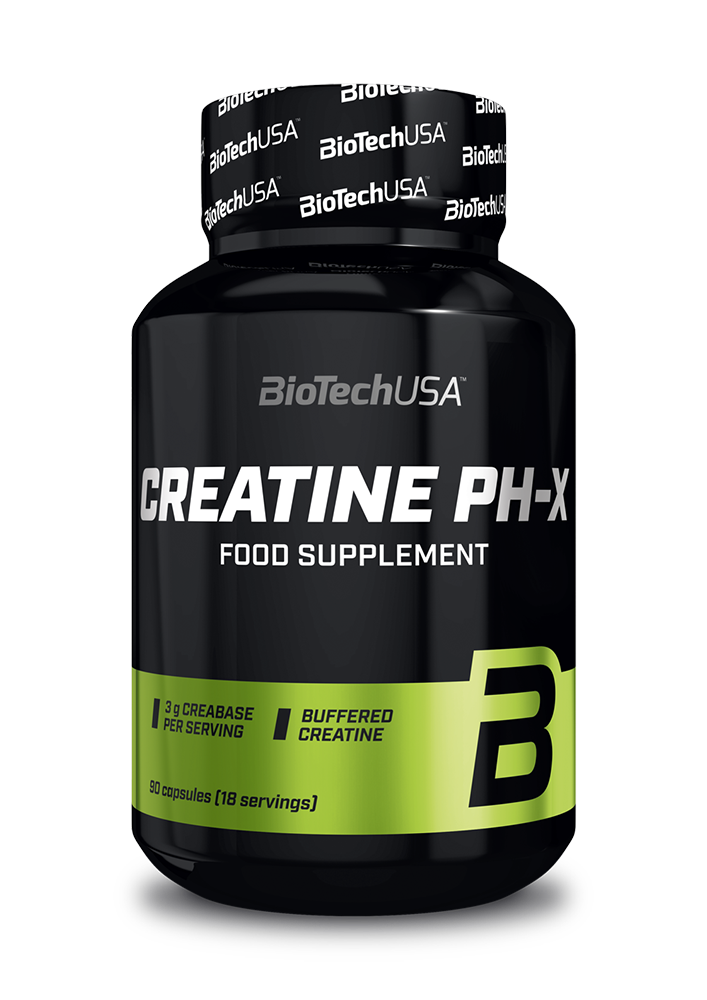 BioTech USA Creatine pH-X 90 kap.