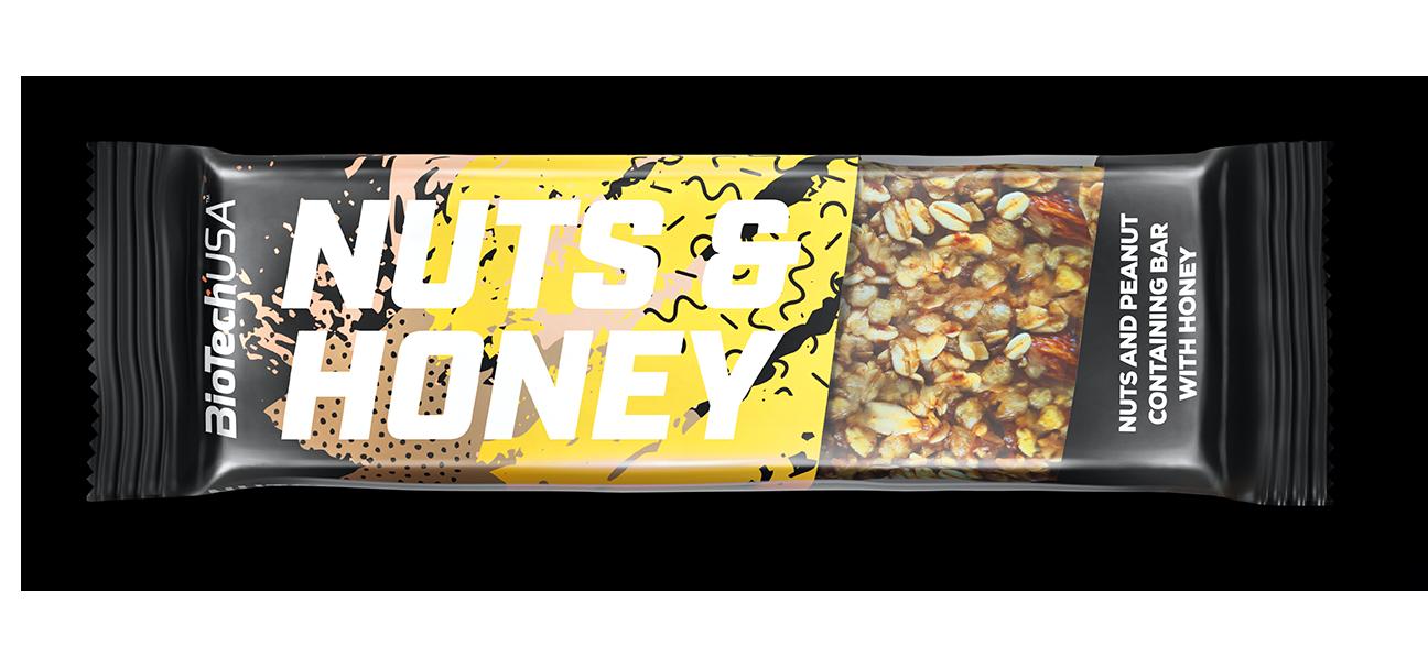 BioTech USA Nuts & Honey 35 gr.