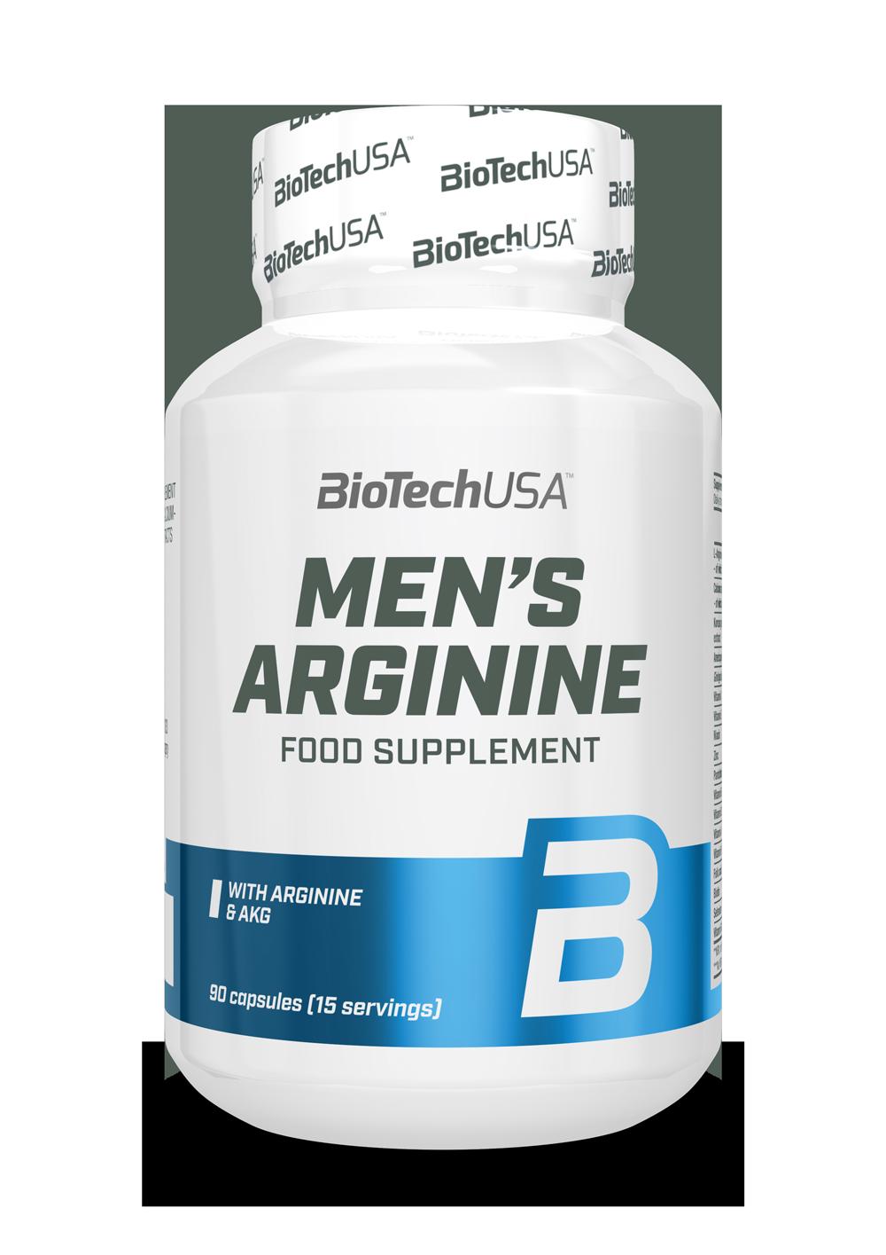 BioTech USA Mens Arginine 90 kap.