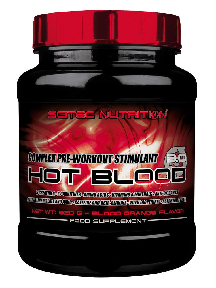 Scitec Nutrition Hot Blood 3.0 820 gr.