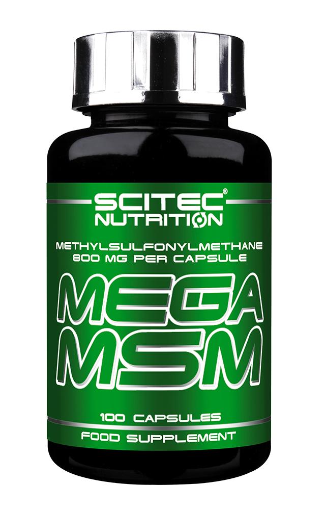 Scitec Nutrition Mega MSM 100 kap.