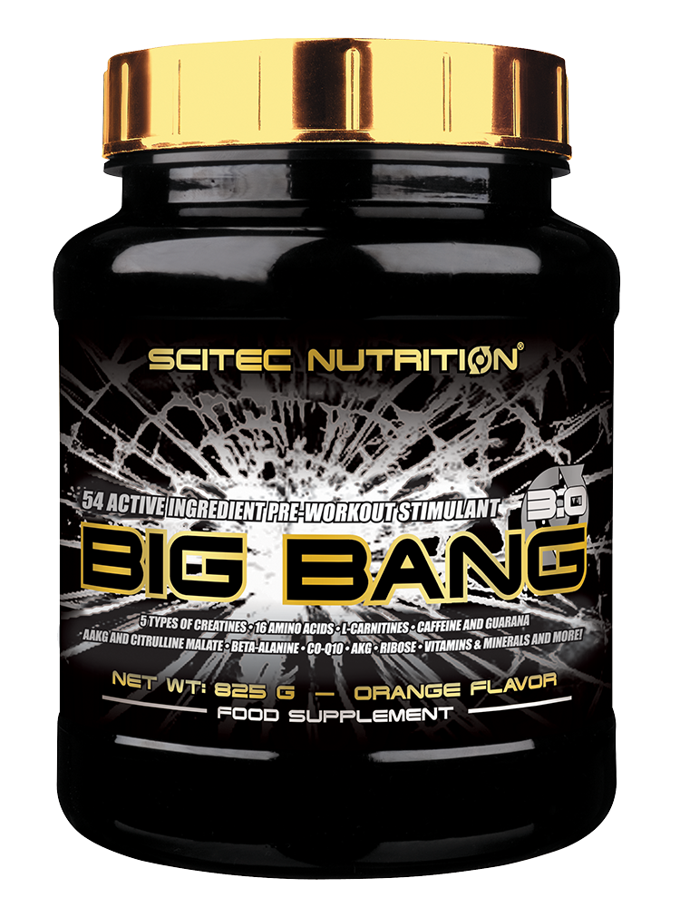 Scitec Nutrition Big Bang 3.0 825 gr.