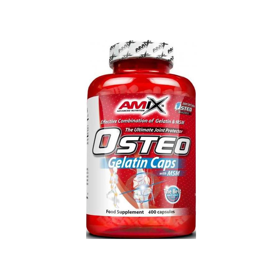 Amix Osteo Gelatine +MSM Caps 400 kap.