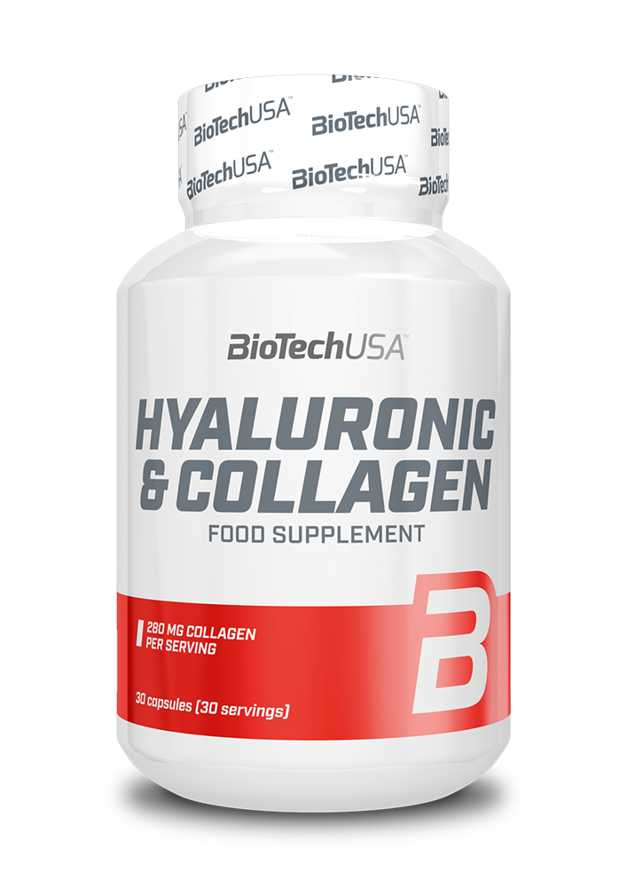 BioTech USA Hyaluronic & Collagen 30 kap.